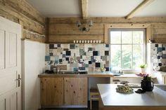Metamorfoza domu w Bieszczadach : Wiejska kuchnia od deco chata