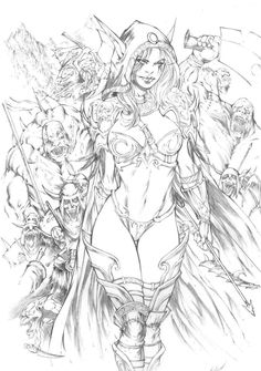 24 Ideas For Anime Art Girl Fantasy Fairy Tales Adult Coloring Book Pages, Coloring Book Art, Colouring, Transférer Des Photos, Warcraft Art, Arte Dc Comics, Fantasy Art Women, Anime Art Girl, Comic Books Art