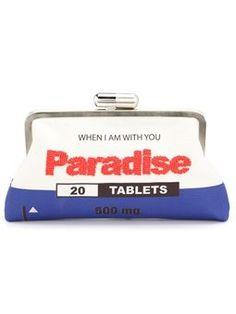 'Paradise' clutch