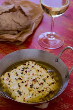 Cinco Quartos de Laranja: Queijo feta no forno com tomilho