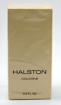 Halston Cologne 2.5 oz Vintage but New in Sealed Box by QueeniesCollectibles on Etsy