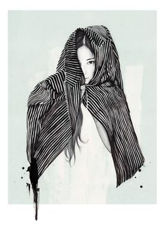Fashion Illustrations by Esra Røise | Inspiration Grid | Design Inspiration esraroise.com