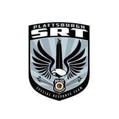 Plattsburgh SRT by the Boire Benner Group #logo #logodesign #eagle