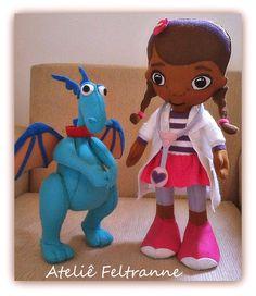 Doutora Brinquedos em Feltro