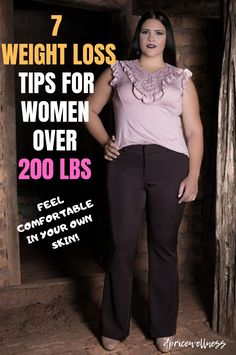 7 Weight Loss Tips For Women Over 200 lbs – DPRICEWELLNESS 7 Weight Loss Tips For Women Over 200 lbs – These 7 effective weight loss tips will help you lose weight in the simplest, safest manner possible. Lose Weight In A Week, Losing Weight Tips, Weight Loss Goals, Fast Weight Loss, Weight Loss Transformation, Weight Loss Program, Healthy Weight Loss, Weight Gain, Fat Fast