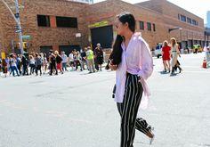 Sarah Chavez in Dries Van Noten