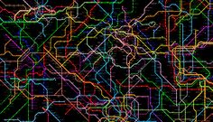 214 Subway Systems Combined Into One Worldwide Metro Map | Co.Design | business + design