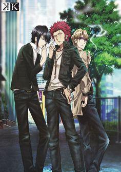 Munakata & Suoh & Kusanagi | K Project #anime