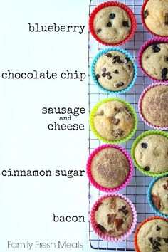 Easy Baked Pancake Muffins. Looks easy enough to do. Definitely gonna try this!