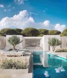 (7) Tumblr Archi Design, H Design, House Design, Exterior Design, Interior And Exterior, Interior Design Images, Desert Homes, Architecture Visualization, Amazing Architecture