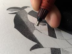 Personal Logo - Hand lettering by Xavier Casalta, via Behance