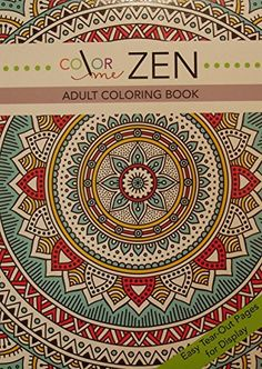 Color me Zen Adult Coloring Book