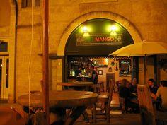Art Mango Cafe, Montpellier, France. Such a sweet bar/restaurant featuring mostly thai cuisine. Set in the most romantic little corner of Montpellier, la Tour de la Babote. <3