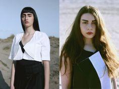 #AnnaMartino and #Mushy (Tribalism) photographed by #SerenaBelcastro MUA #BeatriceContino