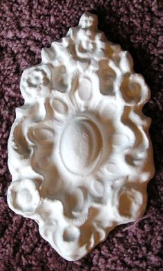 Plaster Mold,DC Medallion Plaster Mold Clay Mold Push Mold Concrete mold Source by etsy Raw Furniture, Wood Cabinet Doors, Finishing Nails, Concrete Molds, Cement, Plaster Of Paris, Plaster Molds, Nail Holes, Stencil Painting