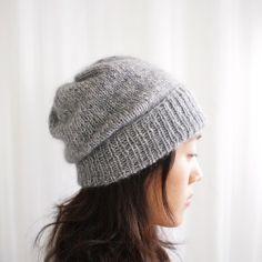 simple pleasures hat by purl soho
