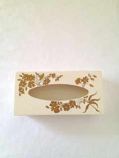Vintage Plastic Tissue Box Cover Mid Century by TheLittleThingsVin, $15.00