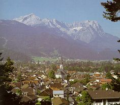 Garmisch Partenkirchen and the Zugspitze!  Amazing views!! Wonderful memory! Germany!