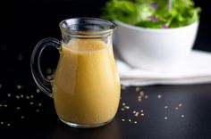 Sesame Miso Vinaigrette and Marinade. This is a sensational dressing made with sesame oil, white miso, rice vinegar and honey. Great as a salad dressing or as a marinade for chicken.