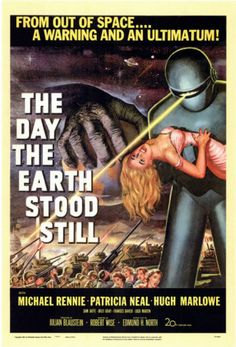 The Day the Earth Stood Still Masterprint. I love old sci-fi posters for the house. :)