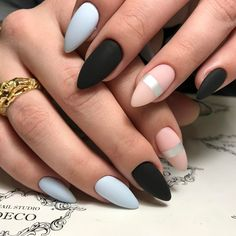 awesome 55 Trending Ideas on Matte Nails - Favorable Designs for You Check more at http://newaylook.com/best-ideas-on-matte-nails/