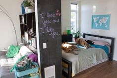Kristen & Emre's Downtown Seattle Studio — Small Cool Contest   Apartment Therapy