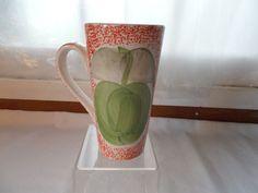Gabbay Green Apple Coffee Cup Mug Red #Gabbay