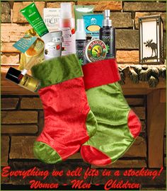 Have we mentioned everything we sell fits in a stocking? Still time to order for Christmas!!