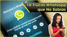 10 Trucos en Whatsapp que NO Sabias y DEBES Conocer!