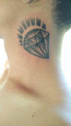 Shining of diamond