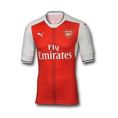 Arsenal 2016 17 Authentic Home Shirt Arsenal Kit eaafa12c6