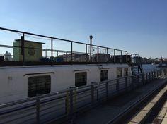 Hausboot Stralauer Allee Berlin Friedrichshain