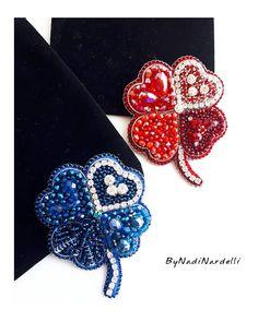 💎Броши💎Колье💎Браслеты (@nadinardelli) • Фото и видео в Instagram Bead Embroidery Jewelry, Beaded Embroidery, Beaded Jewelry, Bead Crafts, Diy And Crafts, Beaded Brooch, Glass Pendants, Handmade Bracelets, Great Gifts