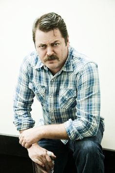 Nick Offerman. And Ron Swanson.