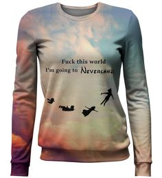 I'm going to neverland sweater, Mr. GUGU & Miss GO