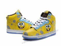 spongebob jordan shoes - Google Search