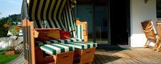 Strandkorbhersteller Eggers liefert auch nach Österreich und die Schweiz ... Outdoor Furniture, Outdoor Decor, Bed, Home Decor, Switzerland, Lawn And Garden, Decoration Home, Stream Bed, Room Decor