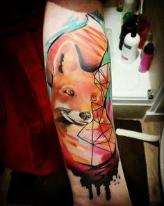 3e1b75d5e 76 Best watercolour fox tattoo images in 2015 | Watercolor fox ...