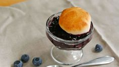 Love blueberry cobbler? This easy version uses Pillsbury biscuits to make a fast, easy, grilled cobbler that your family will love.