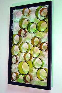 glass bottle projects | Ringed Sculpture | Flickr - Photo Sharing!