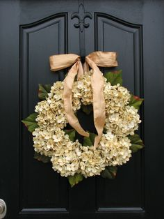 Fall Wedding Decor, Wedding Wreaths, Champagne, Front Door Wreath, Holidays, Autumn Decorations, Harvesting Time