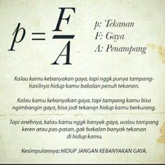 P = F/A