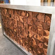 39 отметок «Нравится», 2 комментариев — Parnell Pollioni (@pollionidesign) в Instagram: «Stainless and walnut coffee bar for 275 Battery Street San Francisco. Stainless steel exterior with…»