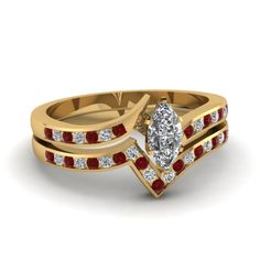 Everything about Yellow Gold Wedding Ring Sets You Must Know Check more image at http://bybrilliant.com/669/yellow-gold-wedding-ring-sets-2