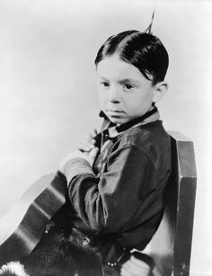 """Carl """"Alfalfa"""" Switzer ~ ~ ~ The Little Rascals! Saturday mornings back in the day."""