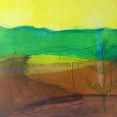 Ealing based gallery showcasing Louise Davies artist prints for sale. For Arts Sake specialise in prints by Louise Davies and other artists. Collagraph, Borders For Paper, Print Artist, Prints For Sale, Line Drawing, Spring Time, Printmaking, Watercolor, Art Prints