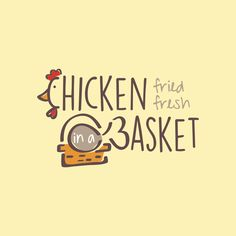 "Chicken in a Basket - Create a great logo for our new ""mom and pop"" restaurant. We are a new fried chicken restaurant serving Broasted Chicken. Our customer base will be blue collar everyday Americ. Chicken Restaurant Logos, Pops Restaurant, Restaurant Concept, Chicken Brands, Chicken Logo, Fried Chicken, Custom Logo Design, Custom Logos, Graphic Design"