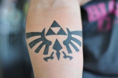 things my son did ..Zelda tri force yep mom approved done at Granville ink (Granville tattoo) in vancouver bc Thanks Dave