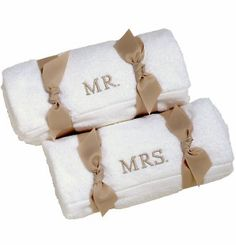 Personalized Bath Towels - Personalized Hand Towels - Wedding Apparel for the Bride and Wedding Party