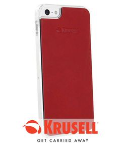 Krusell Donsö Mobile Undercover Case Apple iPhone 5 / 5S - Rood